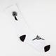 BLVD White Palm Mens Crew Socks