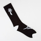 BLVD Black Palm Mens Crew Sock