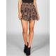 FULL TILT Ethnic Print Yoke Skater Skirt