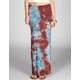 FULL TILT Tie Dye Double Slit Maxi Dress