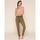 FREE PEOPLE Sunny Womens Olive Sweatpants