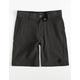 BILLABONG Crossfire Little Boys Gray Hybrid Shorts (4-7)