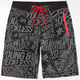 YOUNG & RECKLESS Scattered Mens Boardshorts