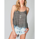 ANAMA Button Back Womens Top