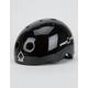 PRO-TEC Classic Certified Black Metal Flake Skate Helmet