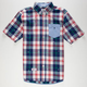 ROCKSMITH Plaid Crown Mens Shirt
