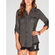 FIRE Mineral Wash Womens Challis Shirt