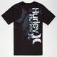 HURLEY Craking Up Mens T-Shirt
