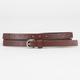 Flower Stud Skinny Belt