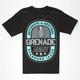 GRENADE Army Emblem Mens T-Shirt