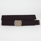 Gold Buckle Web Belt