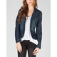 YMI Womens Denim Blazer