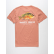 SALTY CREW Pargo Mens Coral T-Shirt