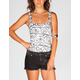 FULL TILT Ethnic Print Corset Top