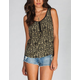 CHLOE K Bar Back Womens Henley