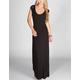 FULL TILT Studded Open Back Maxi Dress