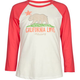 BILLABONG Born In Cali Girls Baseball Tee