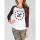 LRG Deconstructed Womens Baseball Tee