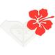 ROXY Luau Sticker