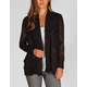 FULL TILT Burnout Stripe Womens Cardigan