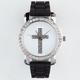 Rhinestone Cross Watch