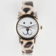 Rhinestone Cat Watch