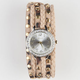 Leopard Studded Wrap Watch