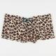 Lisa Leopard Lace Up Boyshorts