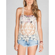 FULL TILT Womens Crochet Tak