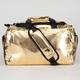 SPRAYGROUND Gold Brick Weekender Duffle Bag