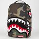 SPRAYGROUND Chenille Woodland Shark Backpack