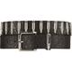 ARMOURDILLO Black Croc 5050 Belt