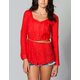 FANG Belted Womens Tunic