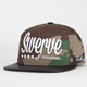 FLAT FITTY Swerve Mens Snapback Hat