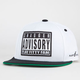FLAT FITTY Swag Advisory Mens Snapback Hat