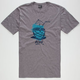 QUIKSILVER Bottoms Up Mens T-Shirt