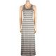 FULL TILT Stripe Womens Maxi Dress