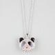 FULL TILT Rhinestone Panda Necklace