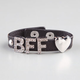 FULL TILT BFF Faux Leather Snap Bracelet