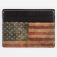 STUDIO MANHATTAN American Flag Card Holder