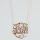 FULL TILT Love Medallion Pendant Necklace