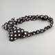 FULL TILT Polka Dot Bow Headband