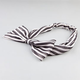 FULL TILT Stripe Chiffon Headband