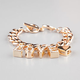 FULL TILT Rhinestone Love Charm Charm Bracelet