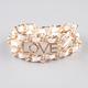 FULL TILT Love Chain Wrap Bracelet