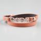 FULL TILT Infinity Faux Leather Double Wrap Bracelet