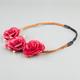 FULL TILT Rose Braided Headband