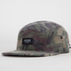 SHAW PARK Washed Camo Mens 5 Panel Hat