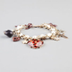 FULL TILT Cheetah Heart Charm Bracelet
