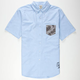 CROOKS & CASTLES Rain Dagger Mens Shirt